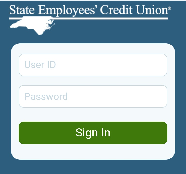 NCSECU Login from Mobile